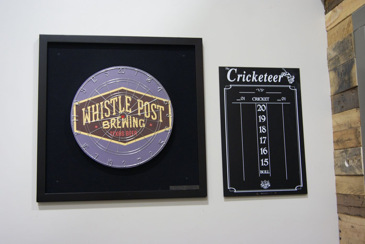Whistle Post Brewing plans to start a fall dart league.