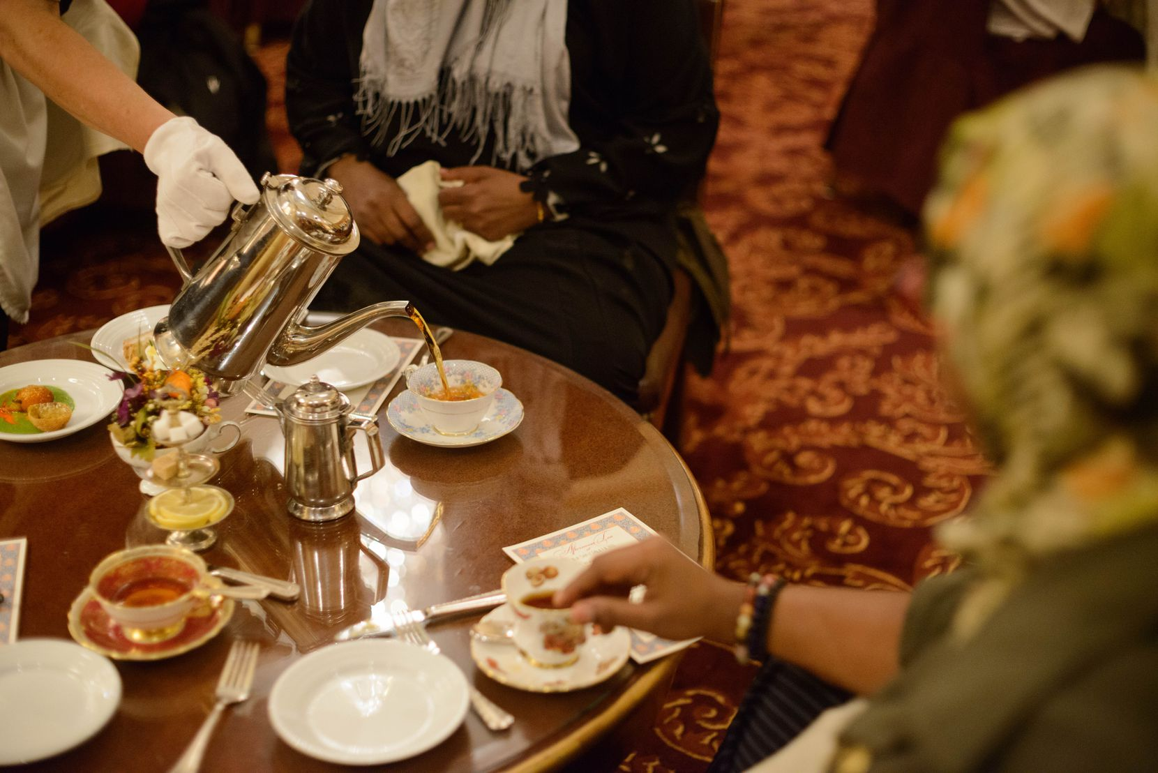 The Saint Paul Hotel, which consists of 255 rooms and suites, offers a five-course afternoon tea.