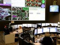 La sala de control de ERCOT maneja varios generadores de luz a lo largo del estado.