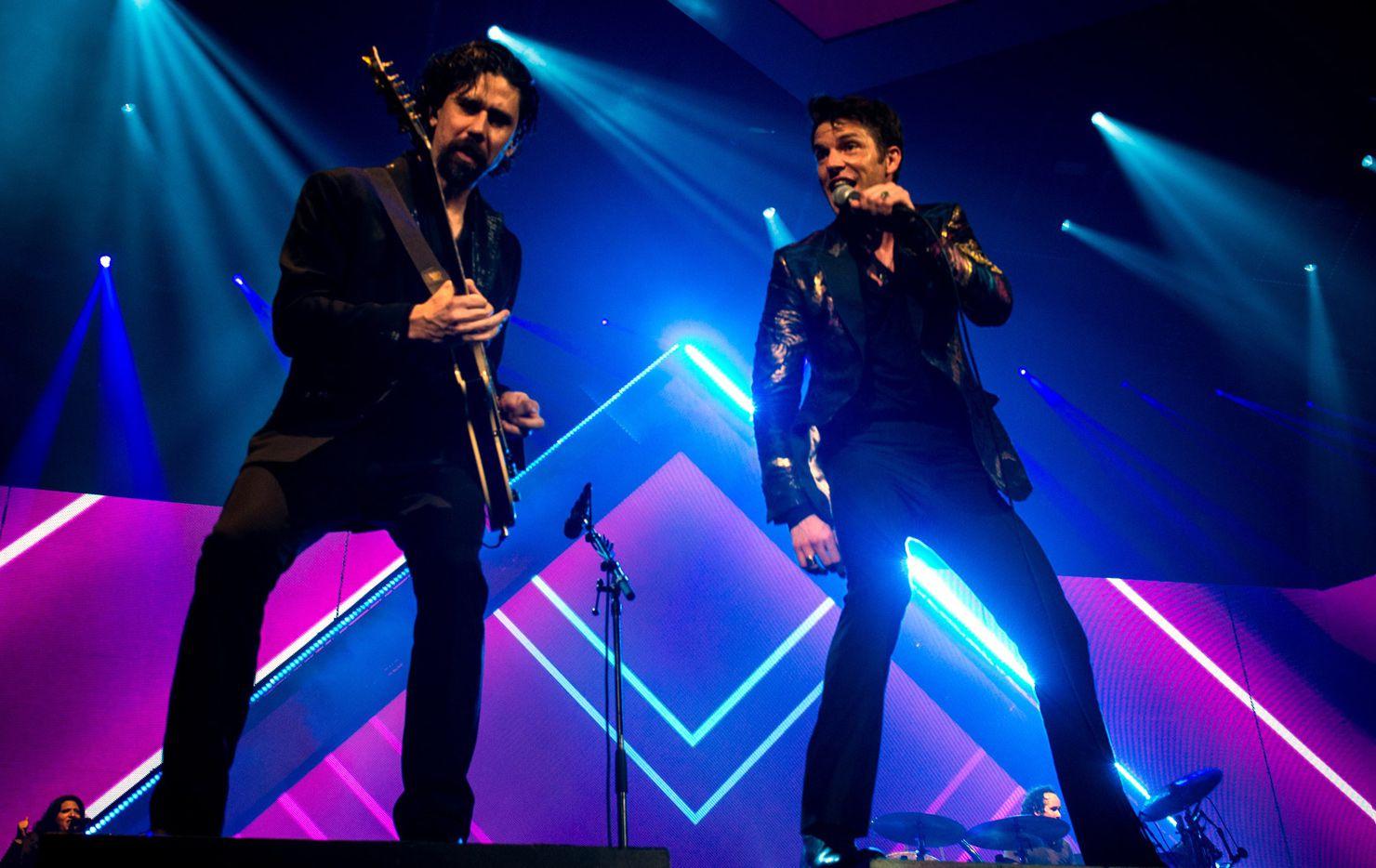 The Killers encabeza el  Kaaboo Texas festival en el AT&T Stadium. AGENCIA REFORMA