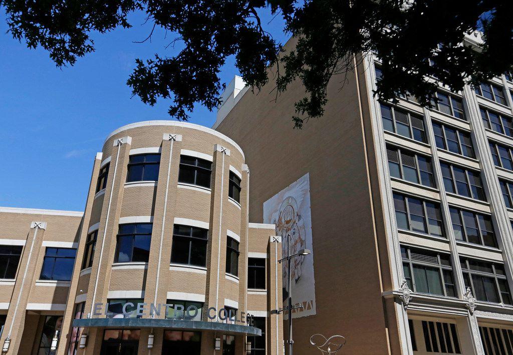 El Centro College in downtown Dallas on Aug. 30, 2018.