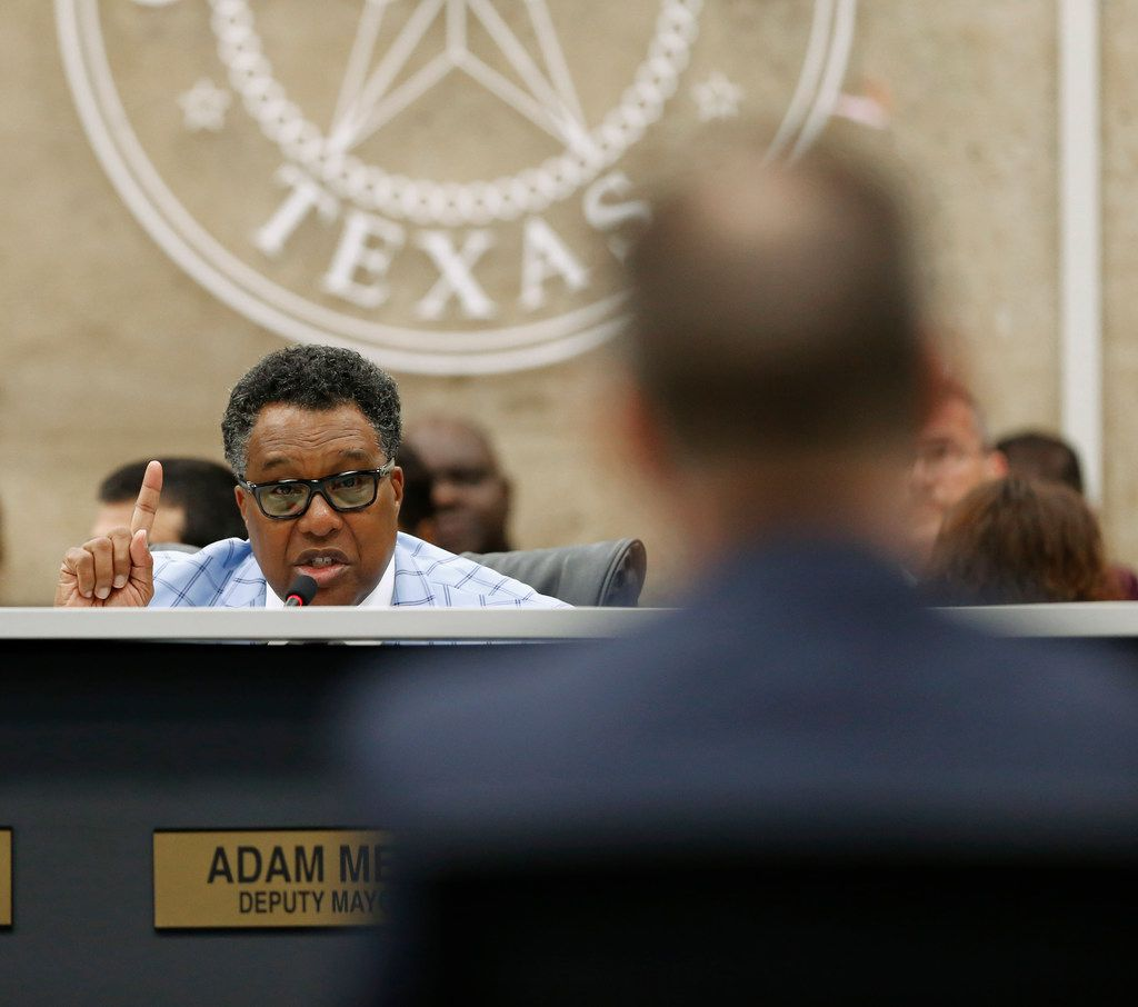 Dallas Mayor Pro Tem Dwaine Caraway resigned from the City Council after pleading guilty to federal corruption charges in August.