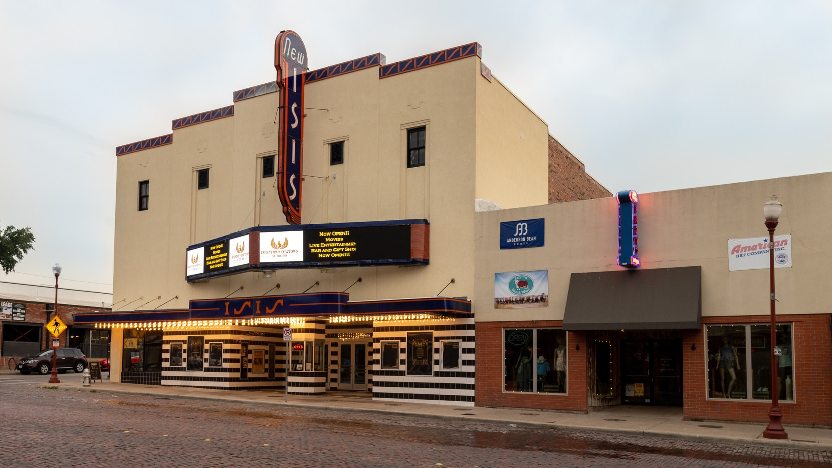 The original Isis Theatre debuted in 1914. Jeffrey Smith and his wife began their restoration process on the historic venue in 2016.