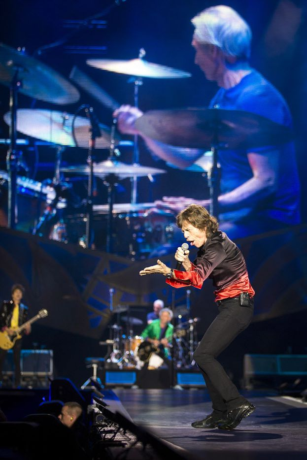 Famous frontman Mick Jagger and the Rolling Stones performed at AT&T Stadium on Saturday, June 6, 2015, in Arlington as part of their Zip Code Tour of North America.