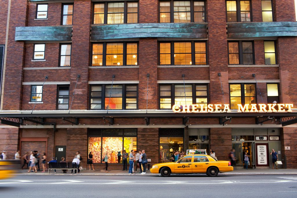 Dallas-based Neighborhood Goods is opening its first New York store in Chelsea Market. It's located on 9th Avenue between 15th and 16th Streets in Manhattan's Meatpacking District. The building was purchased by Google in 2018 for $2.4 billion.