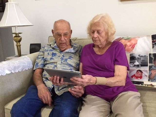 John and Dolly Blumn of Garland complained about Frontier's first year of service.