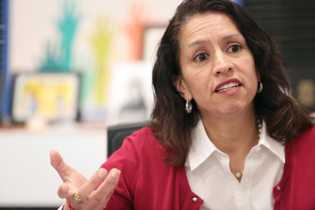 Liz Cedillo-Pereira, directora de la Oficina de Comunidades Hospitalarias, quien ahora dirigirá también el Departamento de Equidad e Inclusión en el cabildo de Dallas. (AL DÍA/MARÍA OLIVAS)