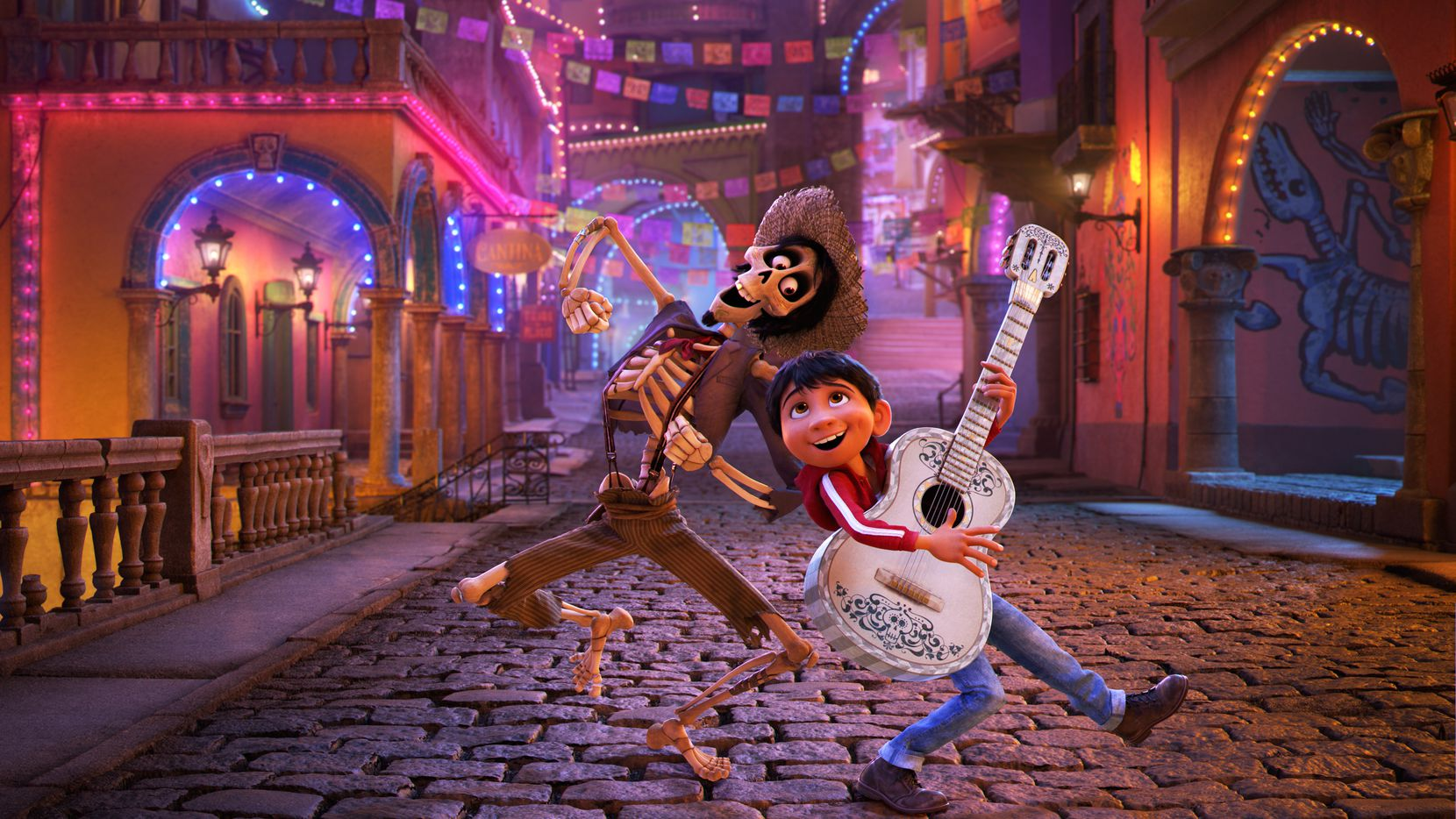 """A scene from """"Coco"""""""