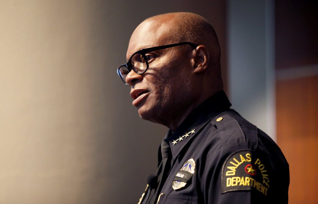 """""""We're asking cops to do too much in this country,"""" Dallas Police Chief David Brown said at a news conference Monday."""