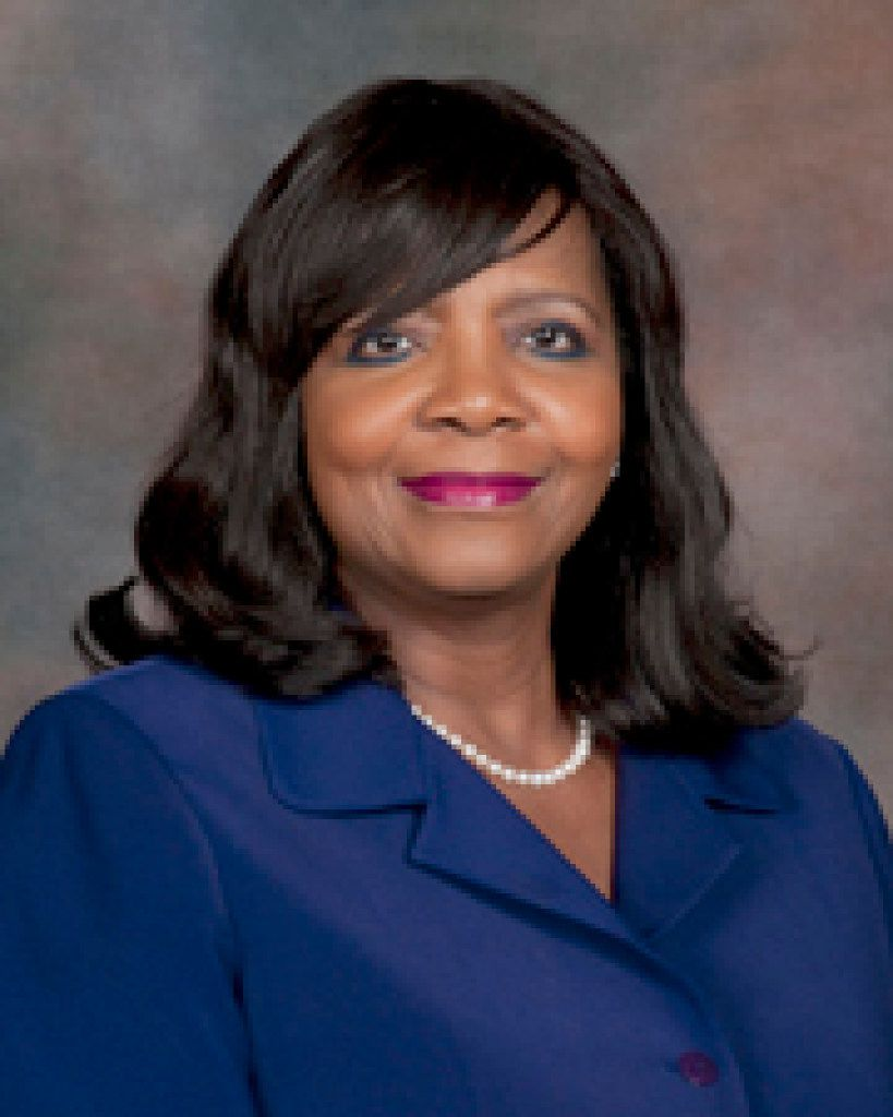 Faith Johnson, former state district judge of the 363rd Judicial District Court in Dallas County