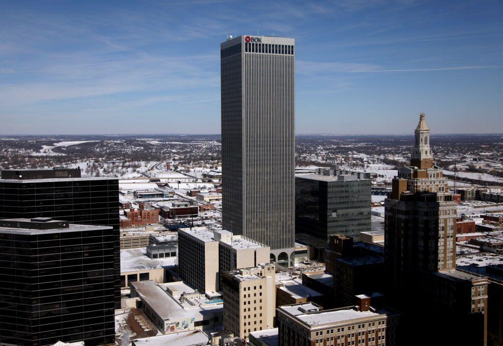 Williams Cos. is headquartered in Tulsa's BOK Tower. John Clanton/Tulsa World