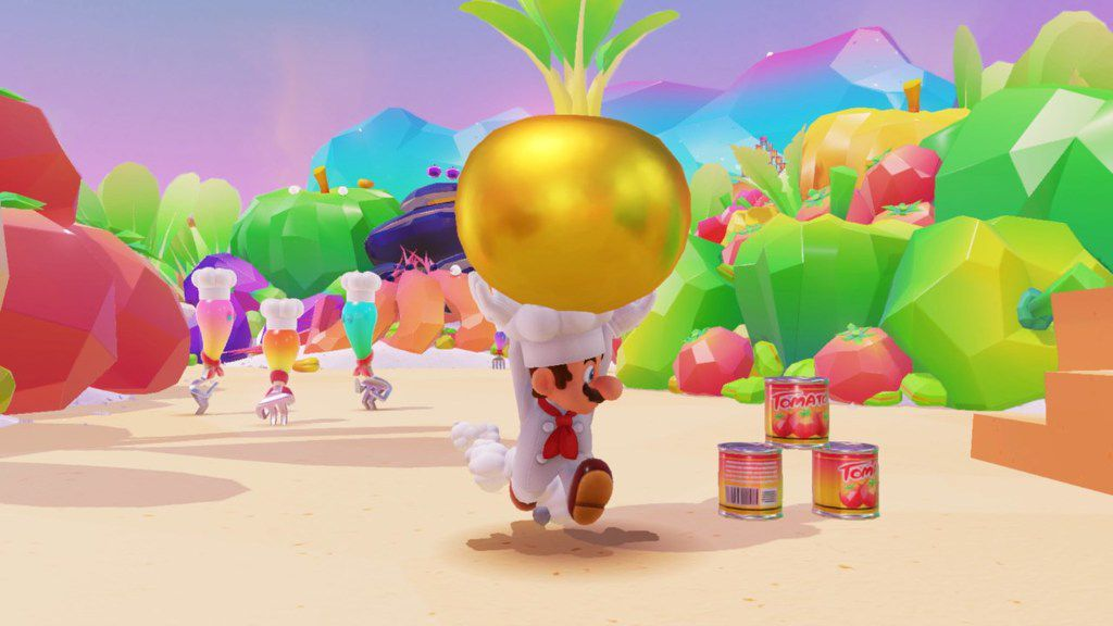 """A screenshot from """"Super Mario Odyssey"""" on the Nintendo Switch."""