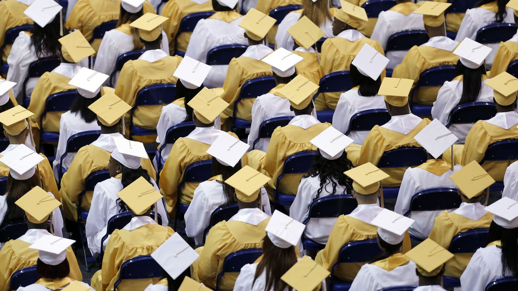Dallas ISD announced that the district's 2020 high school graduation ceremonies will be virtual because of the coronavirus pandemic.