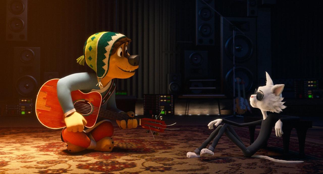 """Luke Wilson puso su voz para el personaje de Bodi (izq.) en """"Rock Dog"""".(MANDOO PICTURES)"""