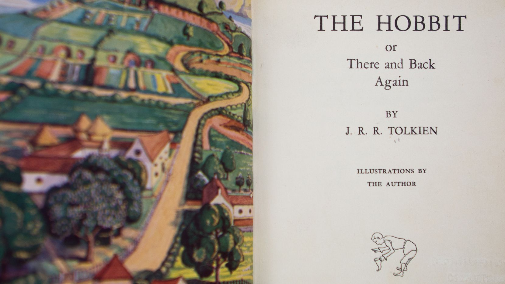 A first edition copy of The Hobbit by J.R.R. Tolkien was returned to the University of North Texas Libraries with an anonymous letter last week.