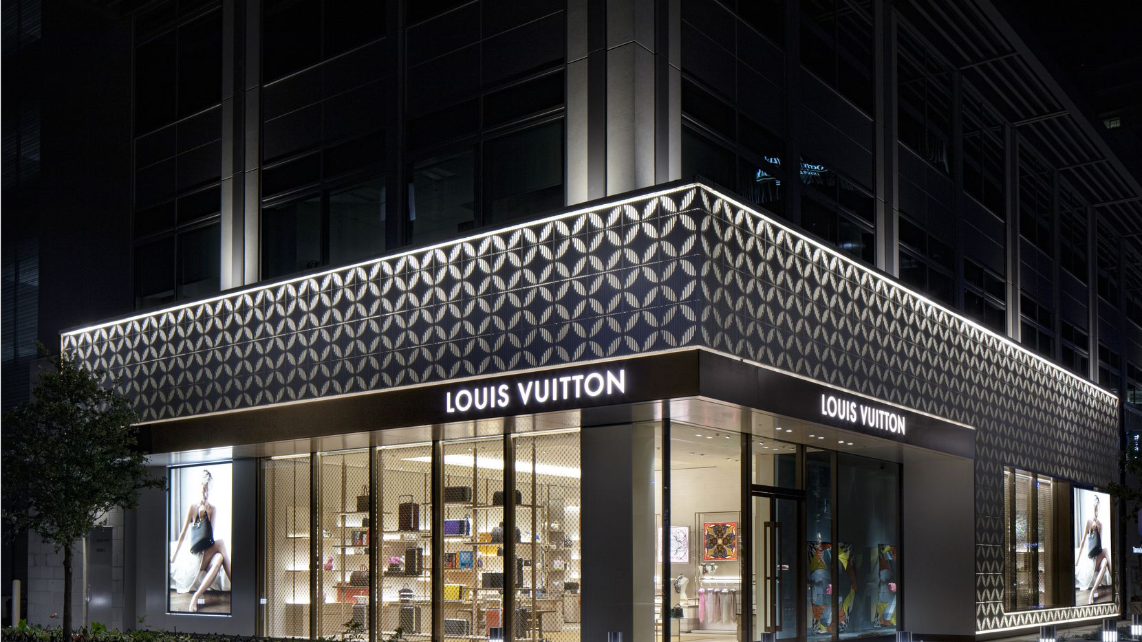 Louis Vuitton in Plano's Legacy West.