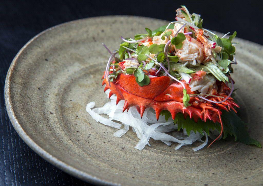 Hanasaki crab salad
