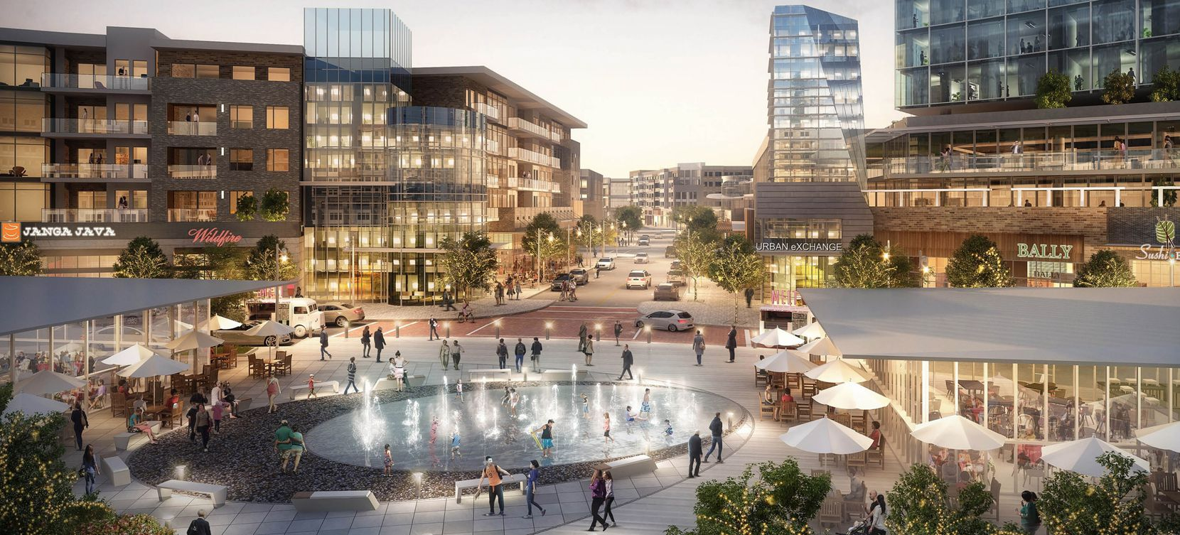 Monarch City was planned as one of North Texas' biggest mixed-use project with offices, retail, hotel rooms and apartments at U.S. 74 and State Highway 121.