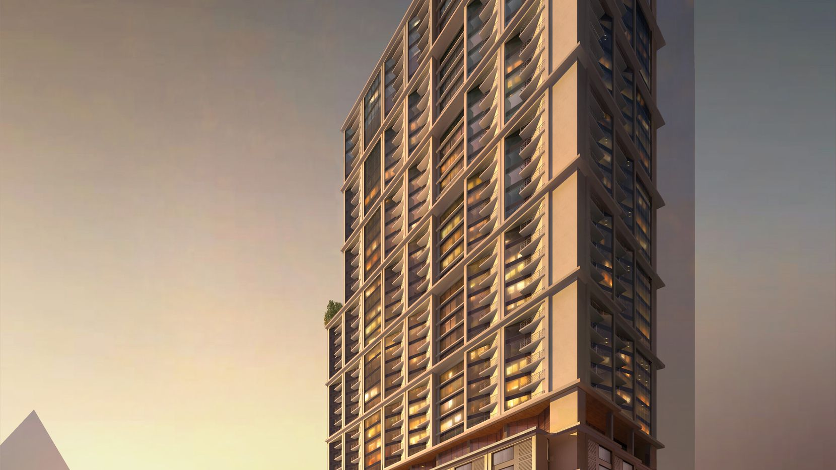 A  40-story tower planned for downtown Dallas' Arts District will contain luxury apartments, artist lofts and retail space at Flora and Olive streets.