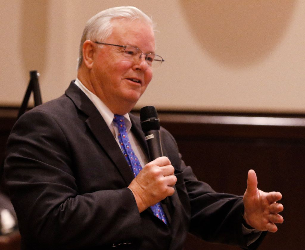 "Rep. Joe Barton, R-Ennis, said Perry's plan to prop up coal and nuclear power plants ""isn't the worst idea ever."" (David Woo/The Dallas Morning News)"