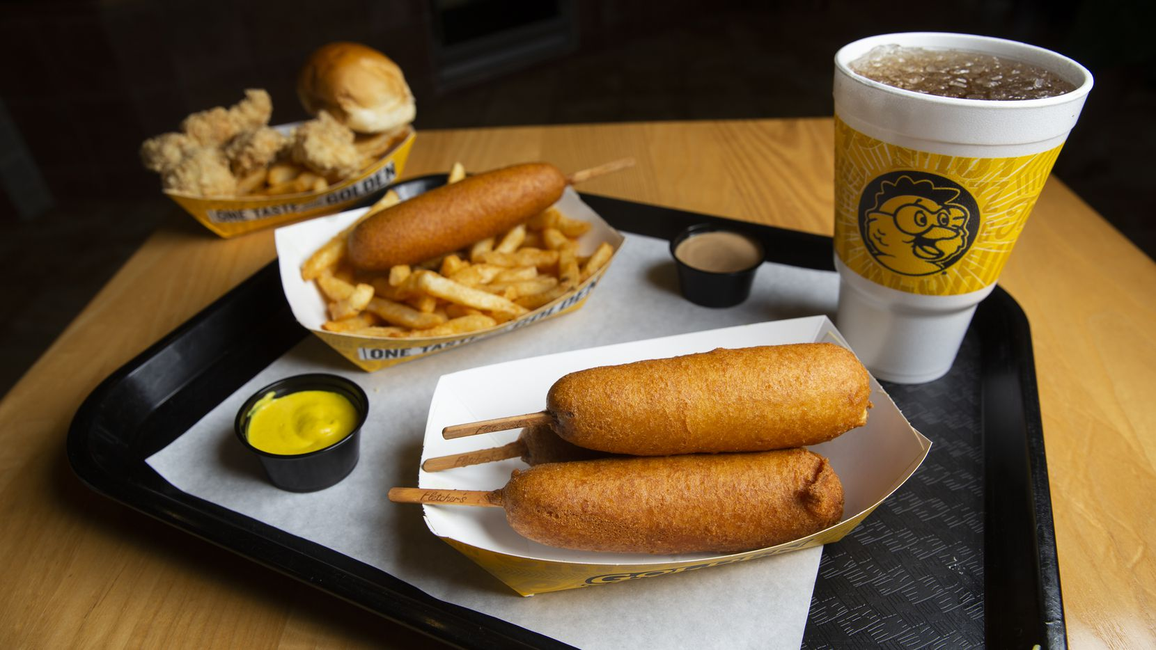 Fletcher's is partnering with Golden Chick to sell corny dogs at nearly 200 restaurants.