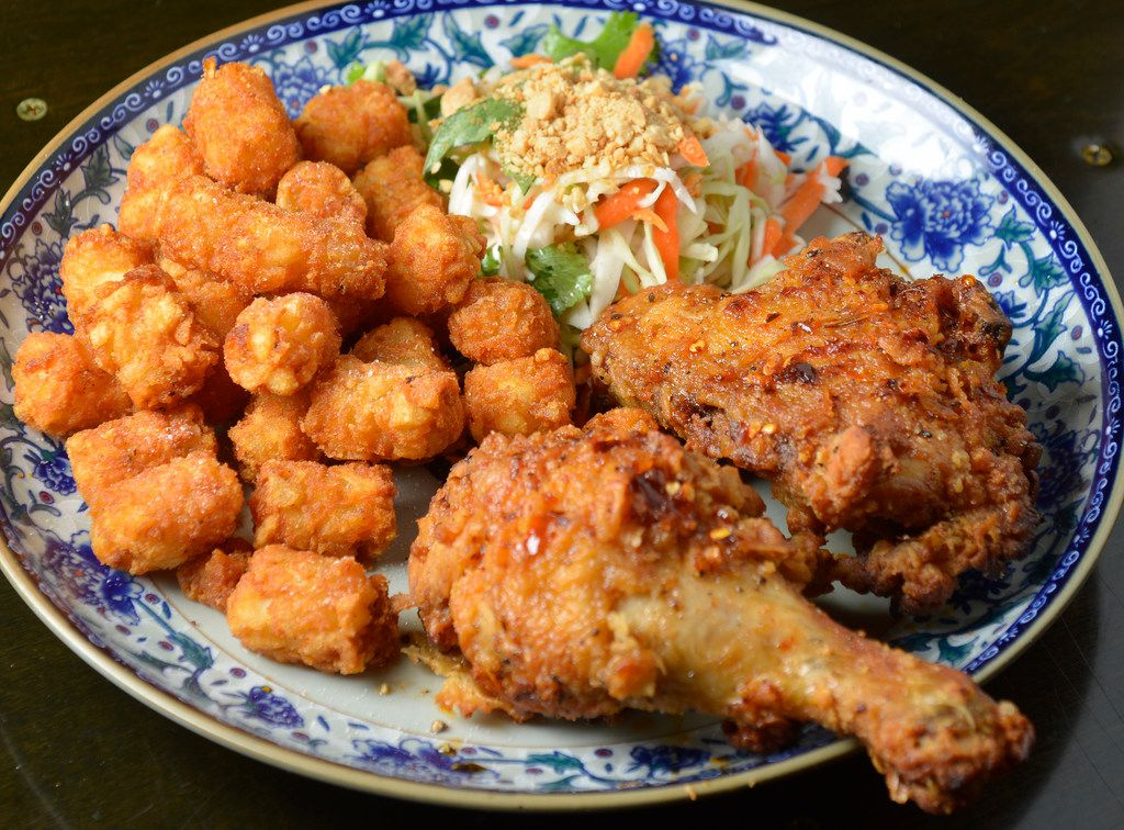 Vietnamese Fired Chicken at Cosmo's in Dallas, Texas on July 11, 2018. (Robert W. Hart/Special Contributor)