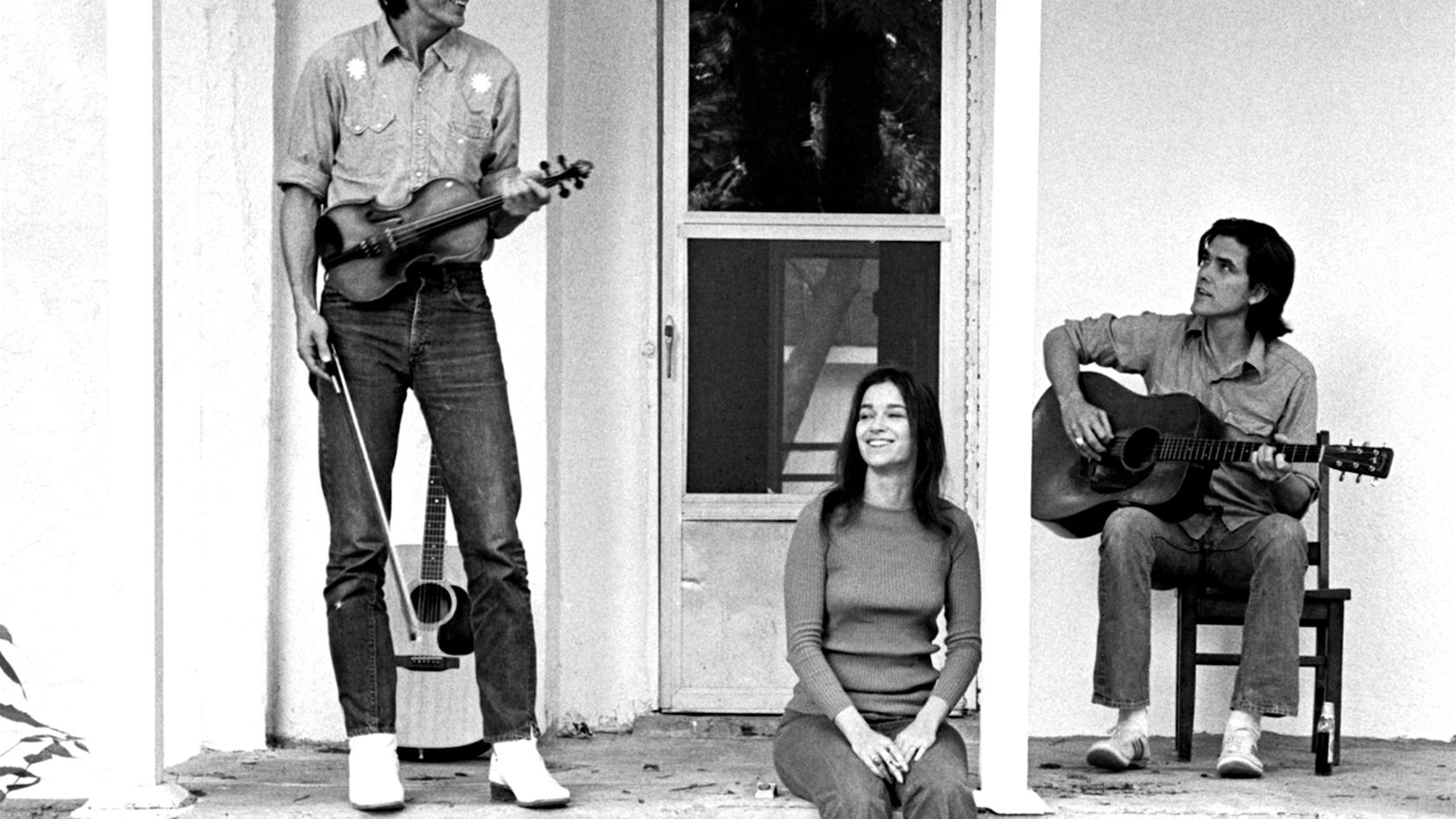 """Townes Van Zandt, Susanna Clark and Guy Clark are at the center of the love triangle depicted in the movie """"Without Getting Killed or Caught."""""""