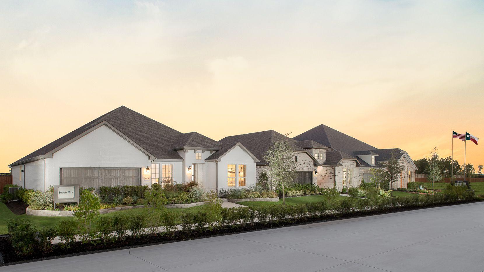 Taylor Morrison's new South Oak community has more than 230 single-family homes.