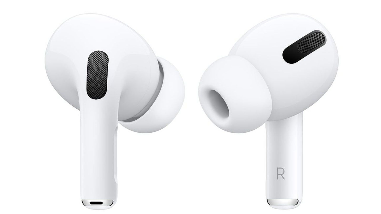 Apple AirPods Pro have different-size tips for the right fit and best sound.