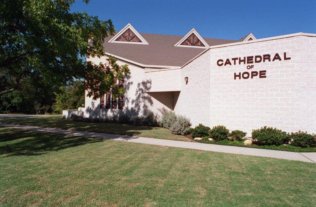 The Cathedral of Hope Metropolitan Community Church on Cedar Springs Road in Dallas.