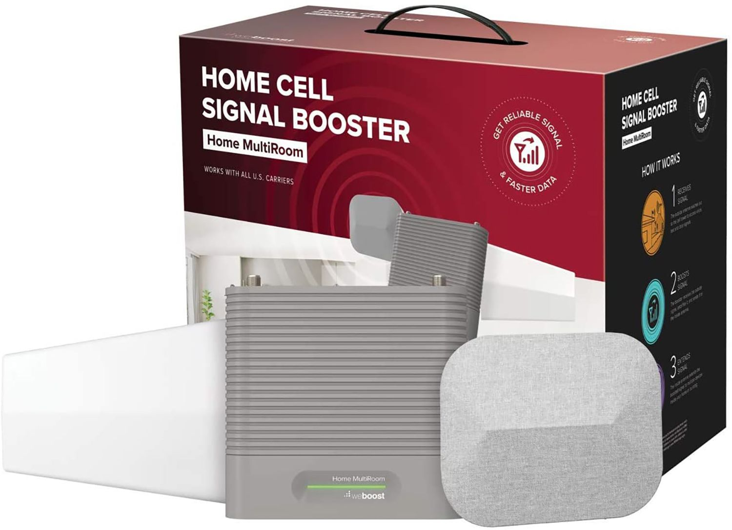 weBoost Home Cell Signal Booster Home MultiRoom