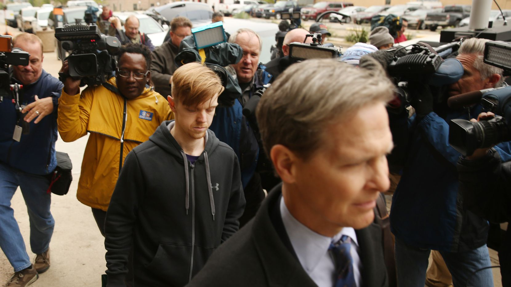 Ethan Couch was released from the Tarrant County jail April 2, 2018.