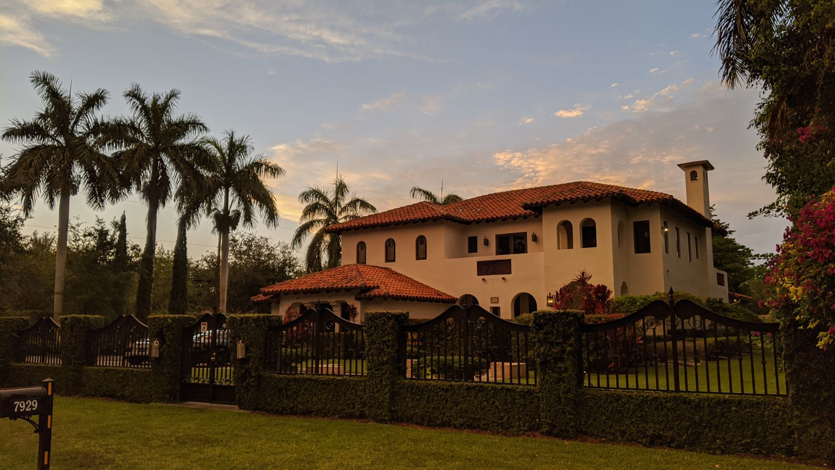 "Shama Hyder and Patrick Barnhill's Miami home, a Spanish Revival design, is featured in HGTV's ""Self-Made Mansions""."