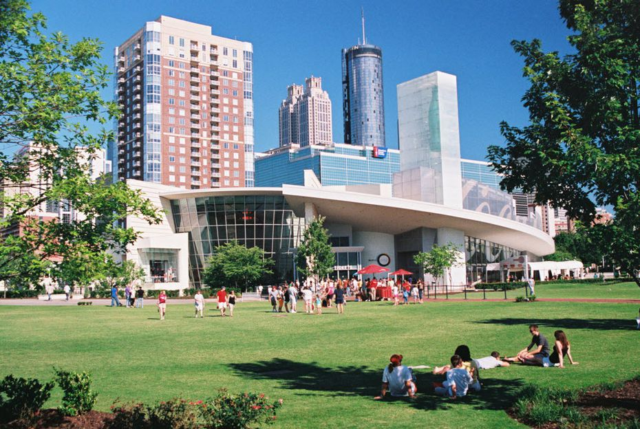 World of Coca-Cola in downtown Atlanta is a high-tech attraction that replaced an original and smaller version.