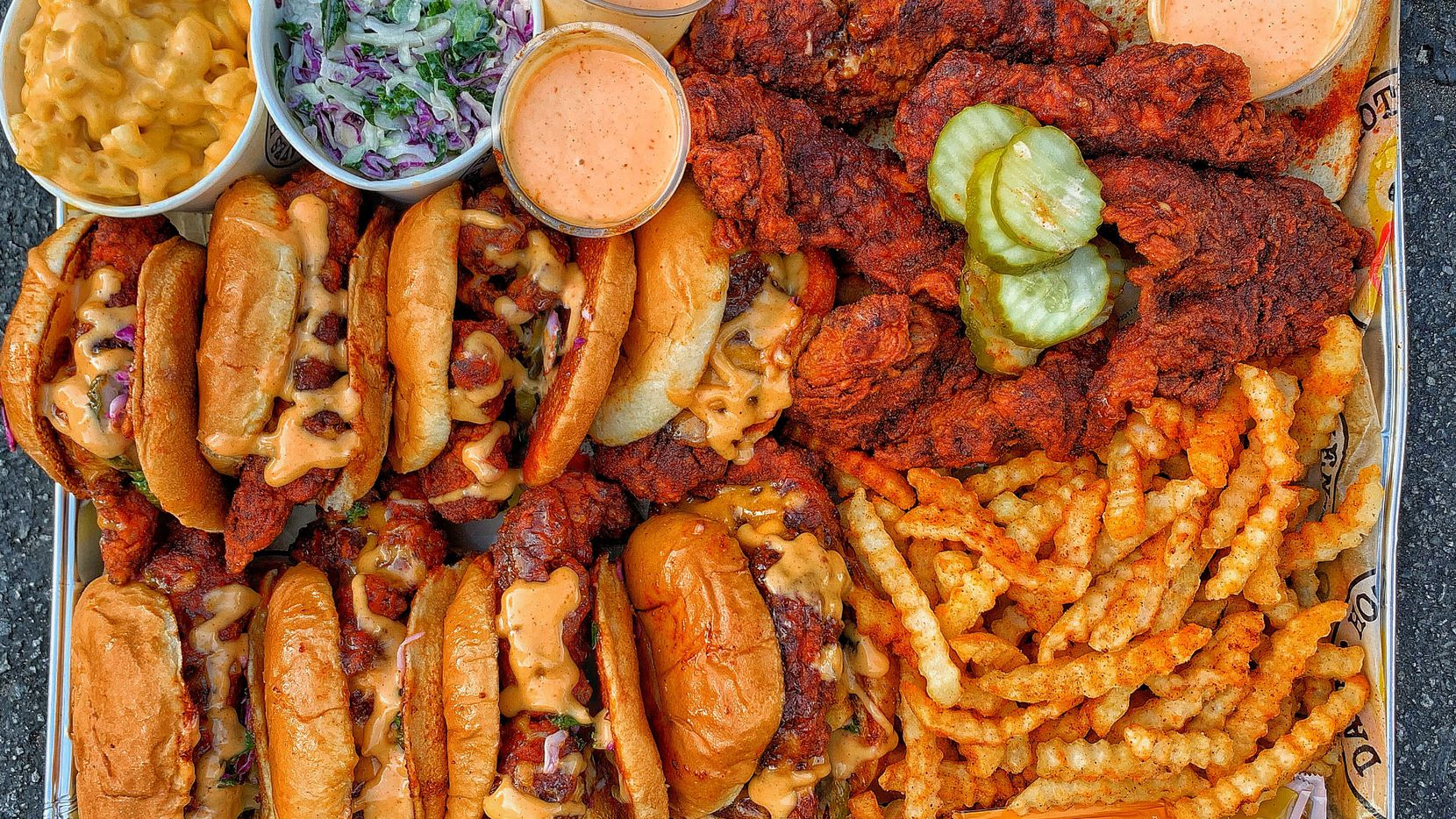 Two Texas restaurateurs plan to open up to 10 Dave's Hot Chicken restaurants in Dallas-Fort Worth, starting in 2021.