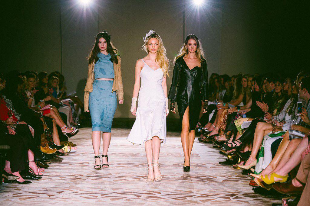 Runway fashion moment at the 2016 Fashion X Dallas event.