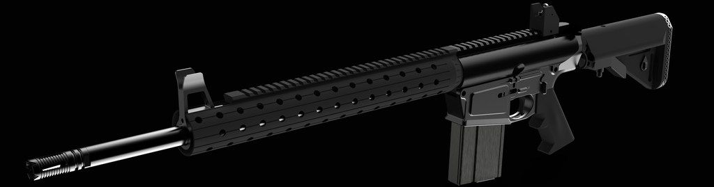 A firearm rendering from Defense Distributed.