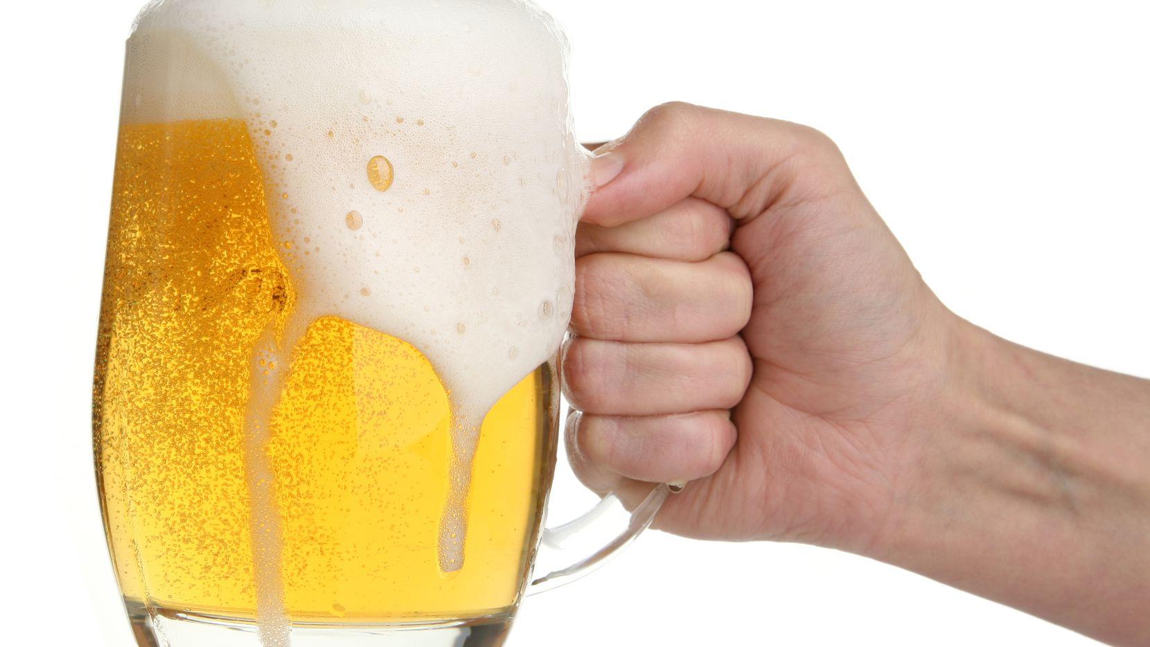 An iStock file photo shows a beer mug.