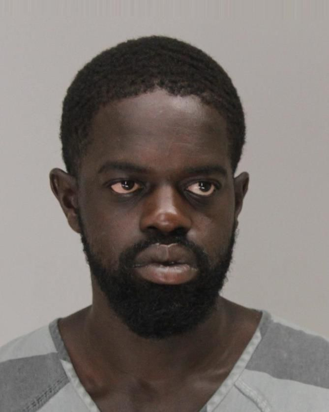 Idrisa Mansaray, 29, faces one charge of criminal trespass and one charge of criminal mischief.