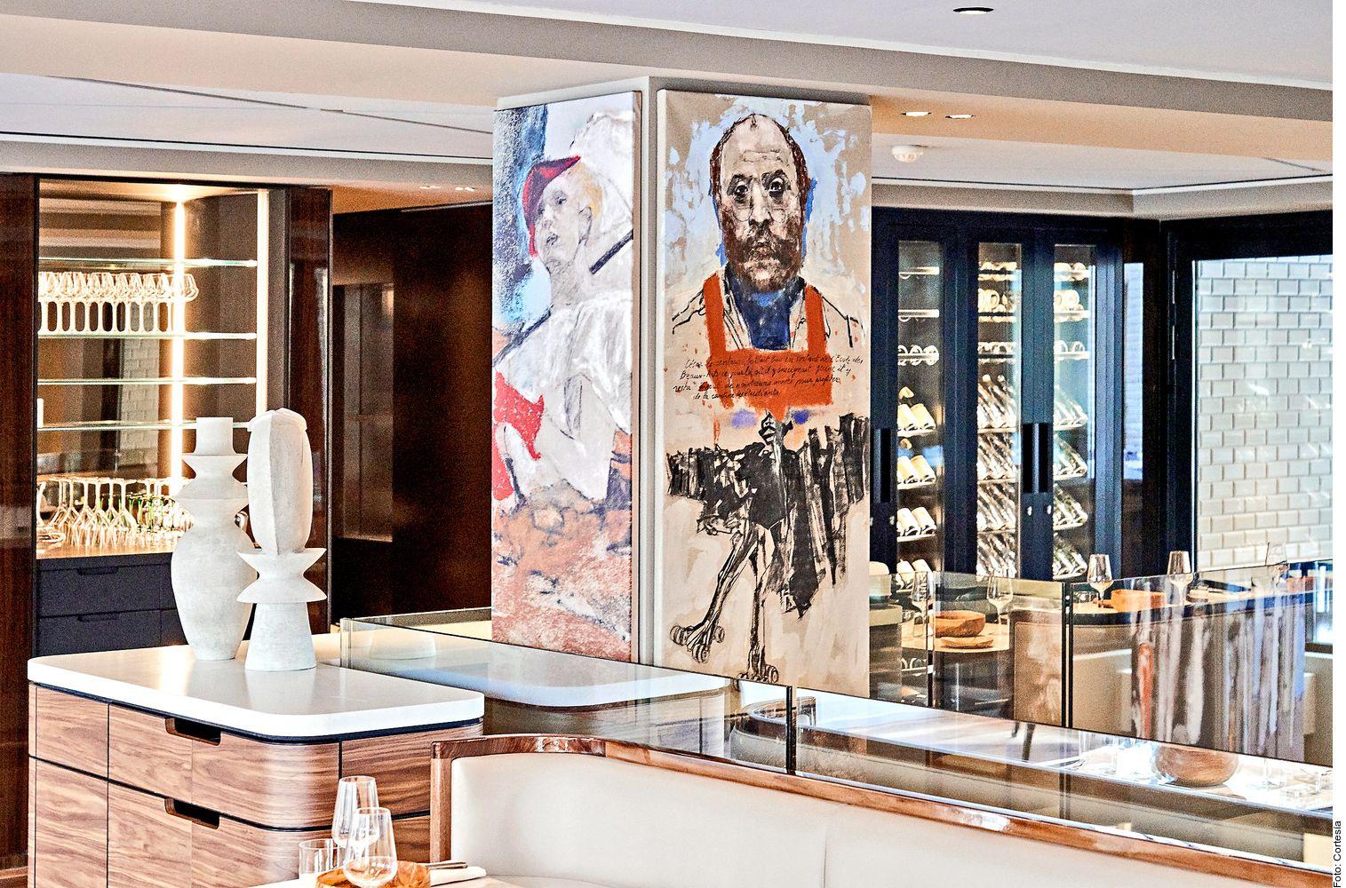 El hotel Lutetia tiene espacios que condensan la historia de Francia.