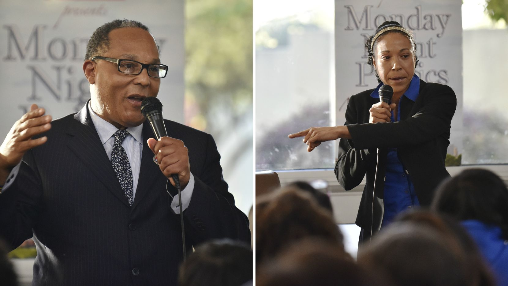 Dallas police are investigating an incident between Dallas City Council member Kevin Felder and candidate Yvette Gbalazeh that began as a dispute over campaign signs.