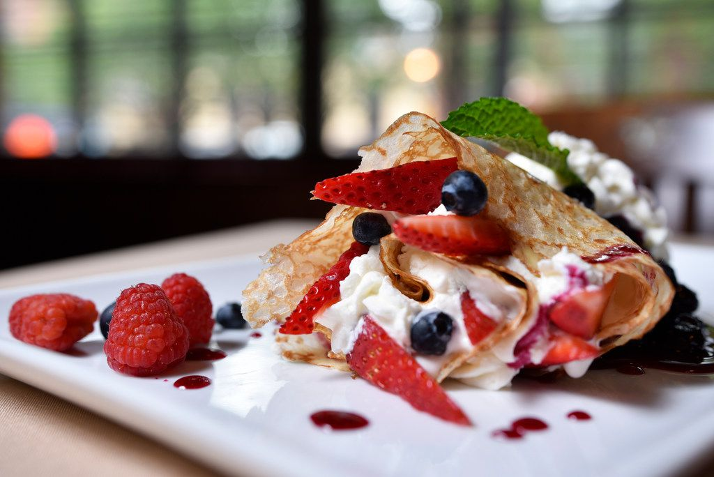 Very berry crepe from Family Thais Asian Bistro in Dallas