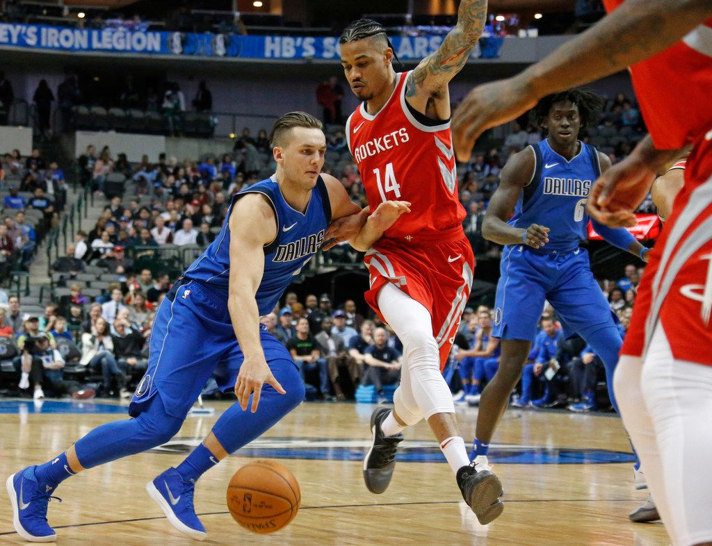 Mavericks guard Kyle Collinsworth could return to the team after the trade deadline. He was assigned to the Texas Legends on Thursday and will play in their game at Frisco on Friday. (Louis DeLuca/The Dallas Morning News)