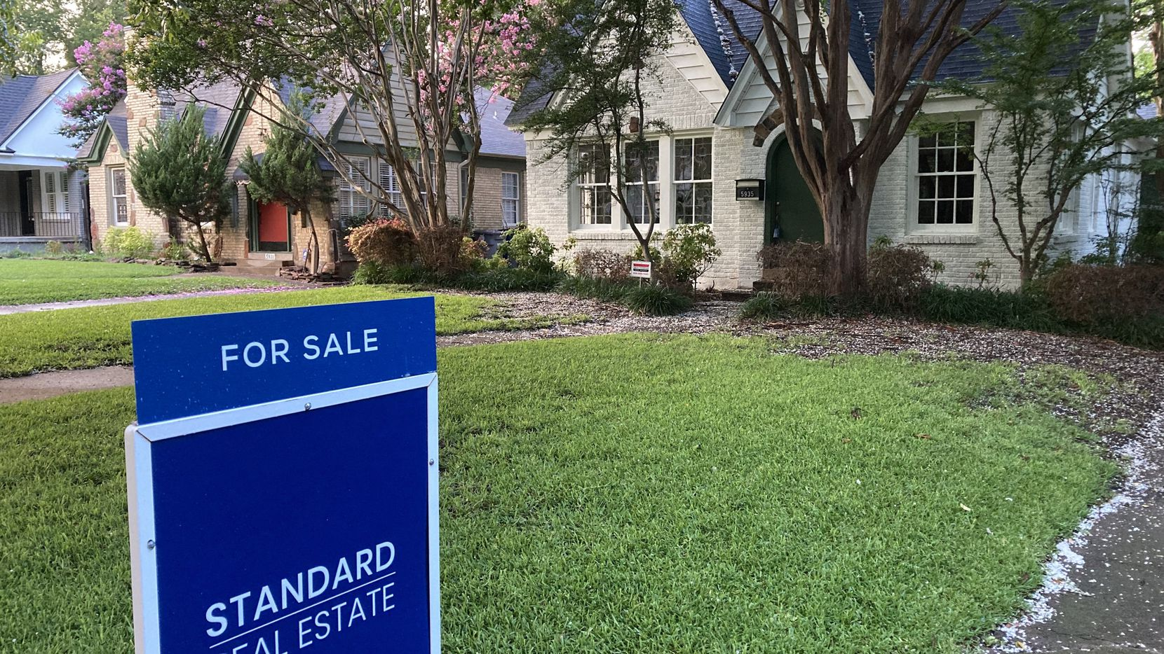 The number of D-FW homes newly listed for sale in North Texas is down from a year ago.