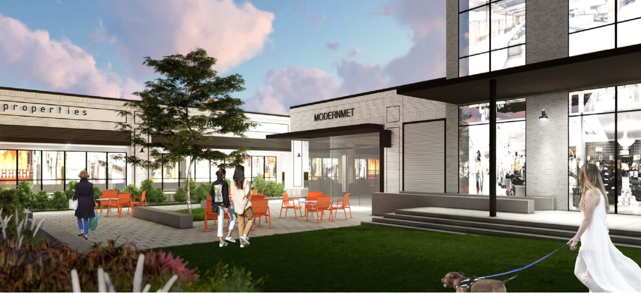Prestonwood Place will be renovated in phases.