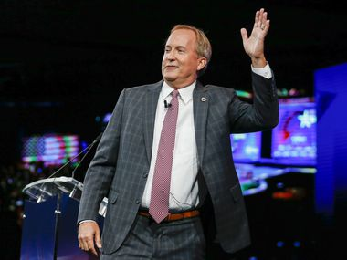 Texas Attorney General Ken Paxton appears at the Conservative Political Action Conference on July 11, 2021, in Dallas.