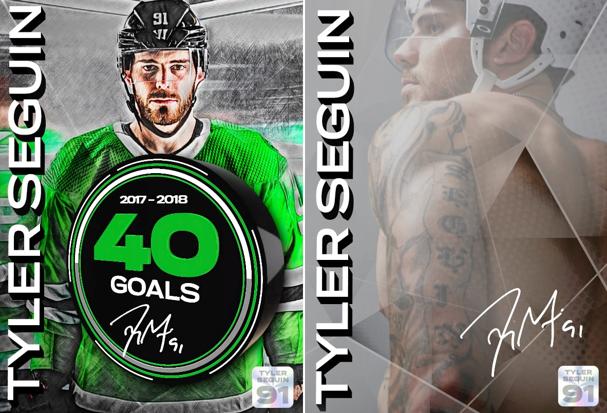 First look at Tyler Seguin's new NFTs.