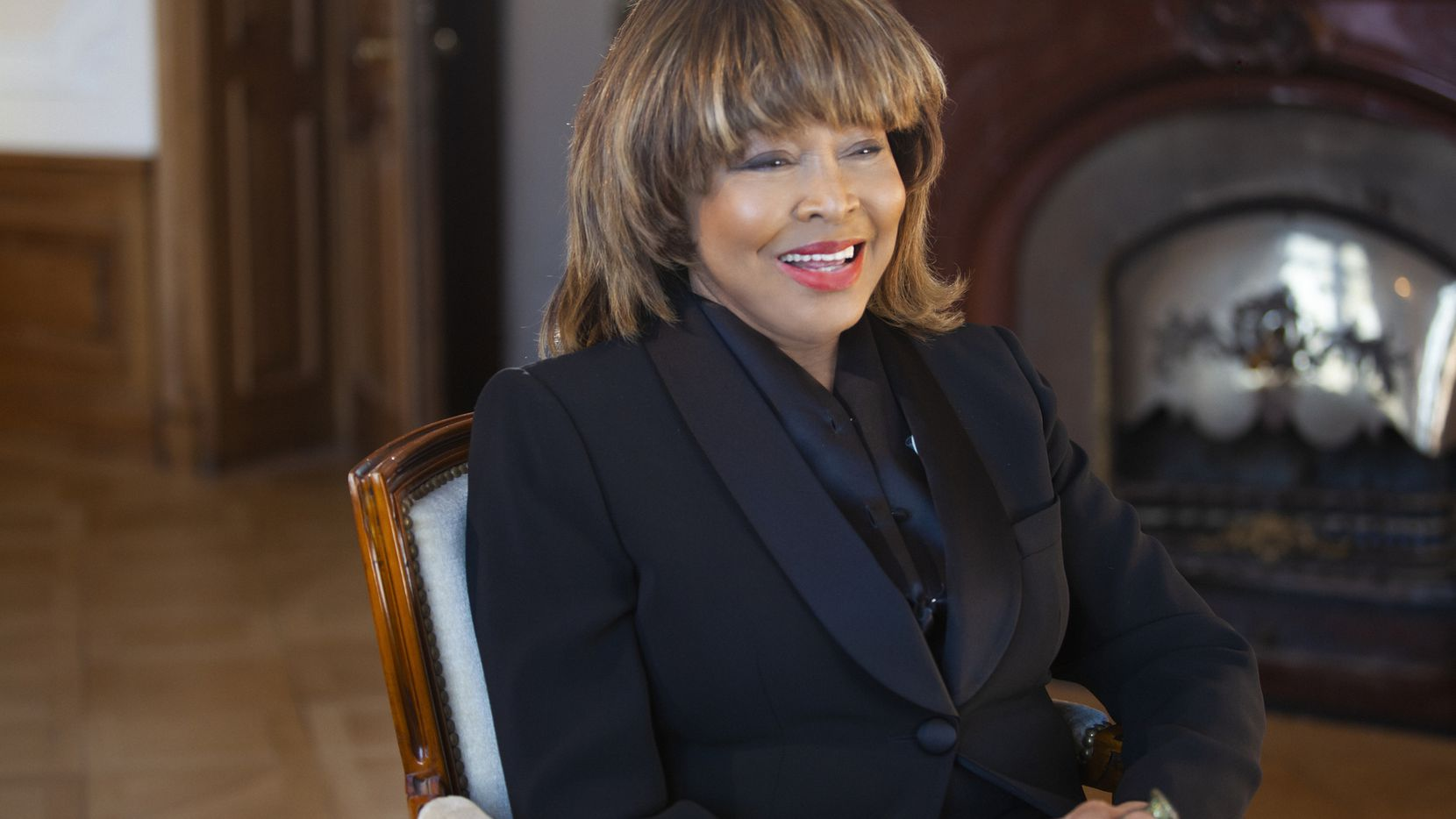 """This image released by HBO shows Tina Turner in a scene from the documentary """"Tina."""" (HBO via AP)"""