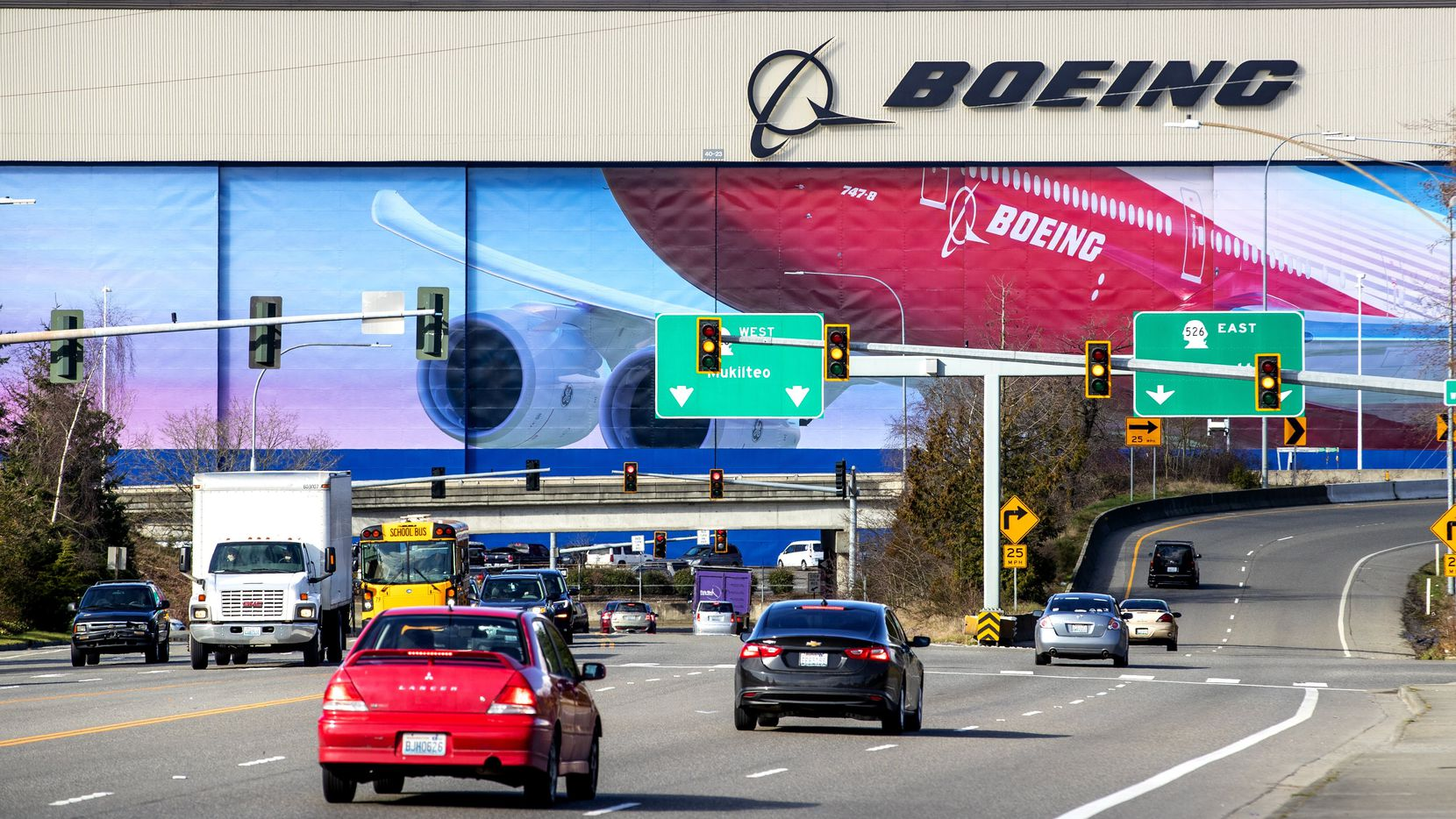 Boeing's Everett factory, known as the largest manufacturing building in the world, now has five confirmed cases of COVID-19, the disease caused by the new coronavirus.