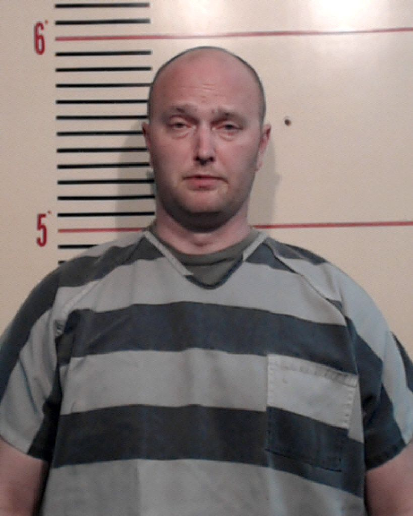 Roy Oliver, fired Balch Springs police officer, is shown in a Parker County Jail booking photo after he turned himself in on a charge of murder on May 5.